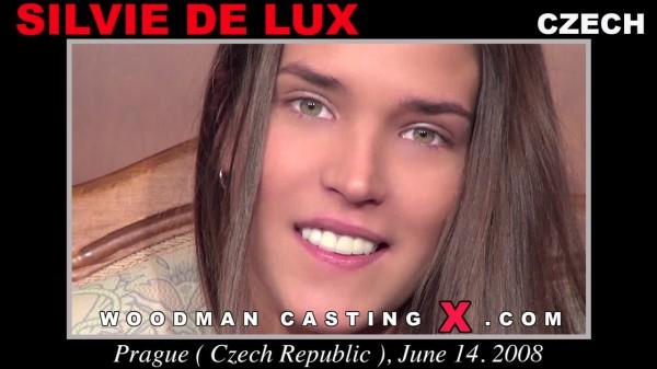 SILVIE DE LUX : All Girls in Woodman Casting X