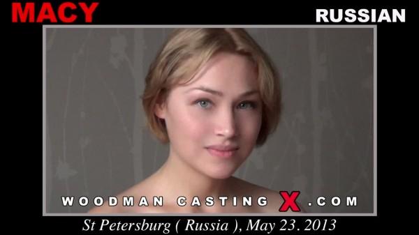 MACY : All Girls in Woodman Casting X