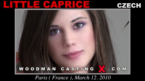 Little Caprice Woodman Casting X