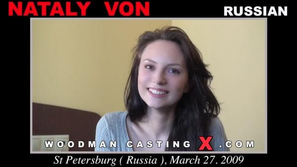 Nataly Von Woodman Casting X